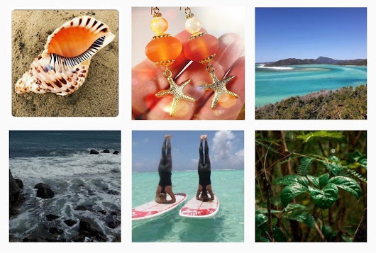 Ocean Inspired Jewelry Accessories For Your Beach Vacation or Cruise