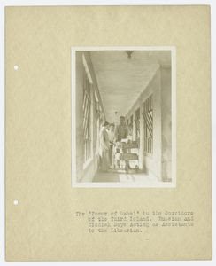 The Tower of Babel in the Corr... Digital ID: 94682. New York Public Library