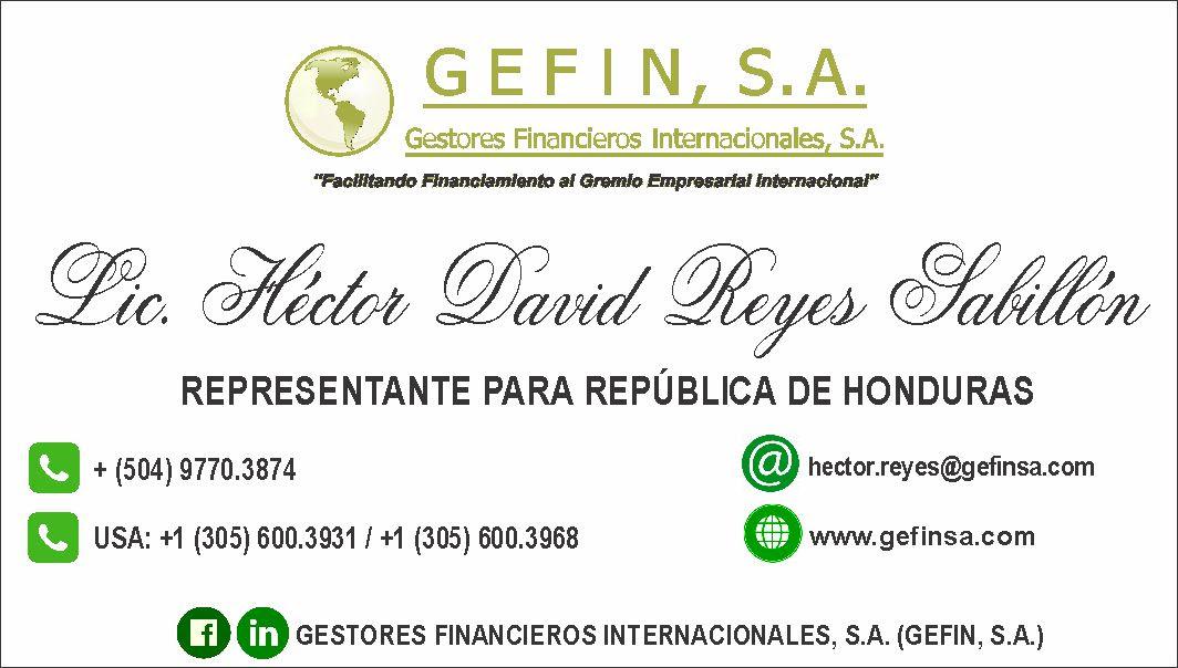 HONDURAS: (HECTOR REYES)