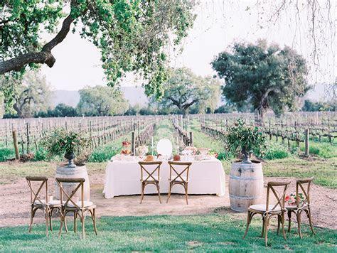 romantic roblar winery elopement   santa ynez, ca