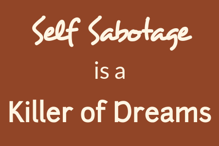 End Self-Sabotage to Accomplish Your Goals | Wiseheart Coaching