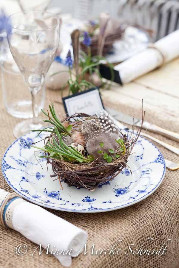 Apparecchiare la tavola per Pasqua - Parte 1 | negozio di fiori