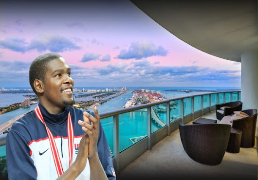 Kevin Durant's Miami Penthouse is Under Contract After Only 22 Days! - Miami Luxury Homes Blog
