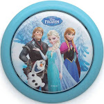 Philips Disney Frozen Elsa Anna Olaf Battery Powered LED Push Touch Night Light by VM Express