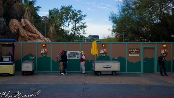 Disneyland Resort, Disney California Adventure, Condor Flats, Refurbishment, Refurb, Refurbish