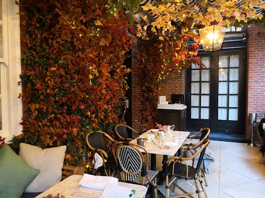 AUTUMN AFTERNOON TEA AT DALLOWAY TERRACE - London Meets Paris