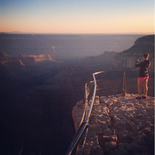 Bikram Yoga Helped Me Survive The Grand Canyon Rim 2 Rim Hike - Kathleen Loves Yoga