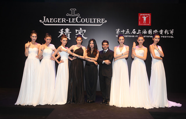 actress Zhao Wei, Jerome Lambert CEO Jaeger-LeCoultre present Rendez-Vous watch in Shanghai - 3