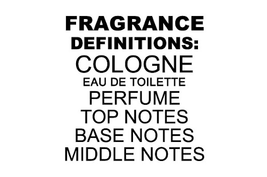 The Differences Between Eau De Toilette, Cologne, Perfume, Base, Middle & Top Notes | The Celebrity Fragrance Guide