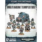 Games Workshop Warhammer 40000 Start Collecting Militarum Tempestus Miniatures