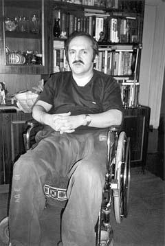 """Бывший военный моряк Галкин уже 21 год является инвалидом """"колясочником"""""""