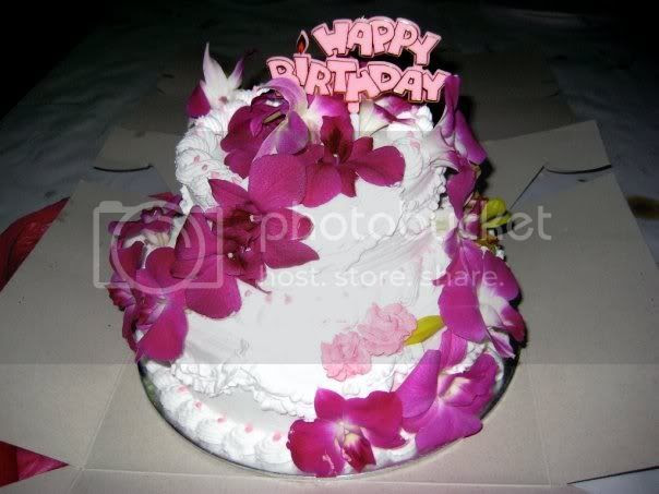 flower birthday cake+flower birthday cake image
