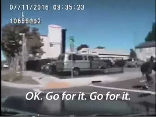 'I'm going to hit him': Dash-cam video shows officers tried to run over man before shooting him 14 times
