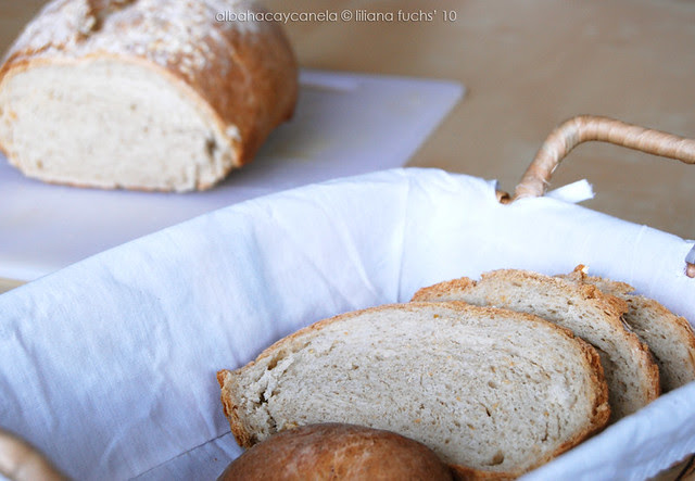 Oat Rustic Bread