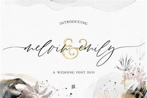 Best Elegant Fonts For Your Wedding Invites