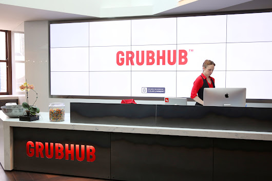 Grubhub shares shoot up on earnings, revenue beat for first quarter