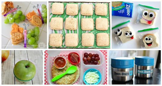 15 Amazing Back To School Lunchbox Hacks - I Heart Arts n Crafts
