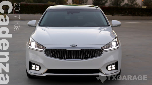 2017 Kia Cadenza – This is a Kia?