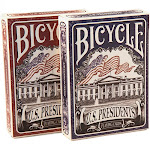 U.S. Presidents Playing Cards by Bicycle 1033317