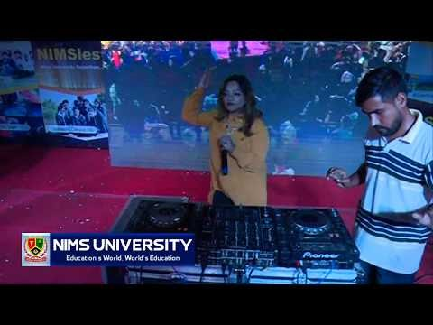 Chalti Hai Kya 9 Se 12 Song Remix by DJ Tasth in Nims University Jaipur