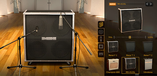 FREE: 3D Cab Room for AmpliTube Custom Shop Users