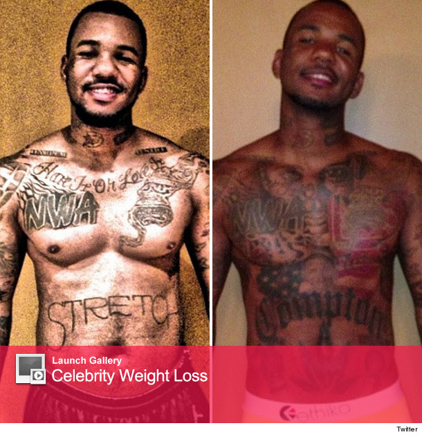 The Game Flaunts Weight Loss In New Picture Toofabcom