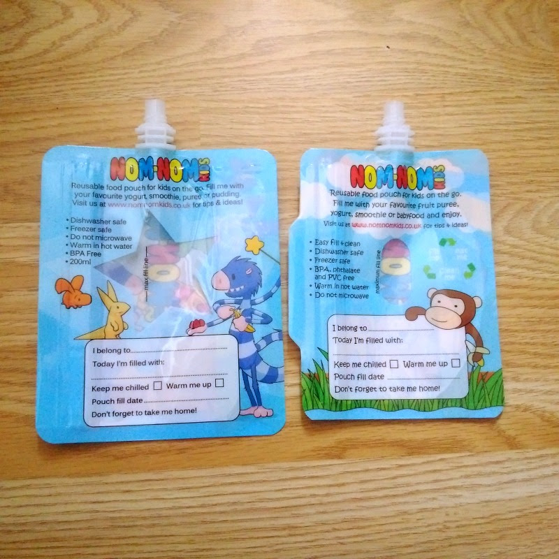 back of the nom nom kids pouches