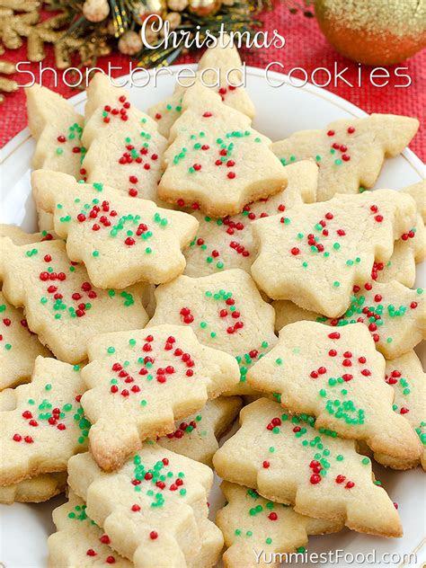 christmas shortbread cookies recipe  yummiest food