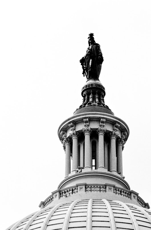 Statue of Freedom. September, 2013.