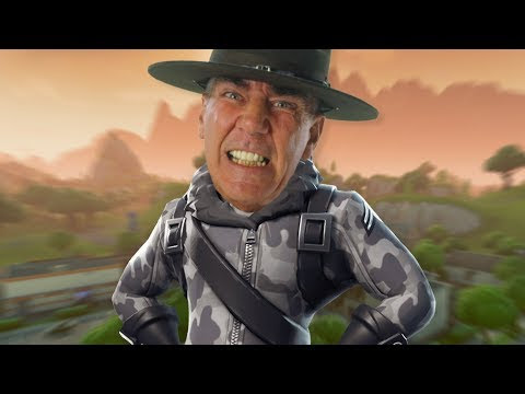 Drill Sergeant in Fortnite Battle Royale!