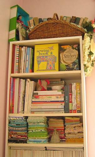 Studio : Bookcase by quaint handmade.