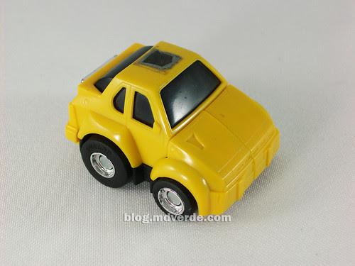 Transformers Hubcap G1 - modo alterno