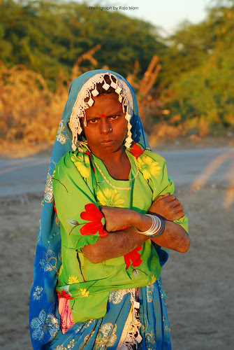 Local Woman @ Kunri