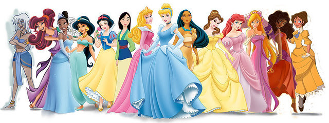 Disney Official and Unofficial Princesses | Explore Via's ...