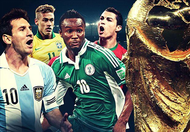 Super Eagles handed easy draw for Brazil 2014