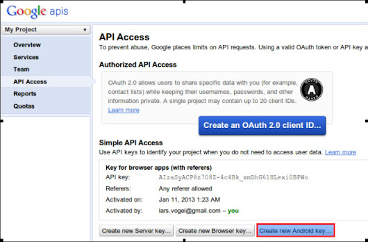Google Places API - Tutorial