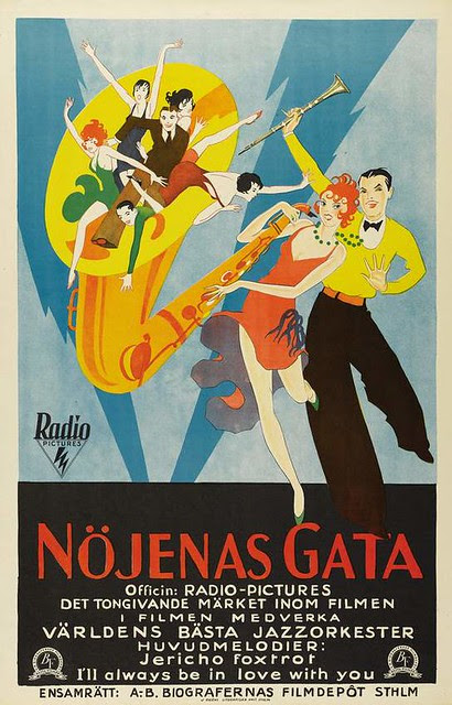 """""""Syncopation"""" movie poster, 1929"""