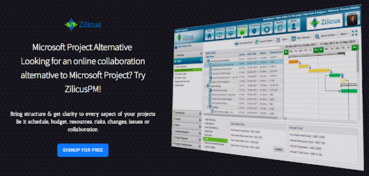 ZilicusPM Project Management Software Alternative to Microsoft Project