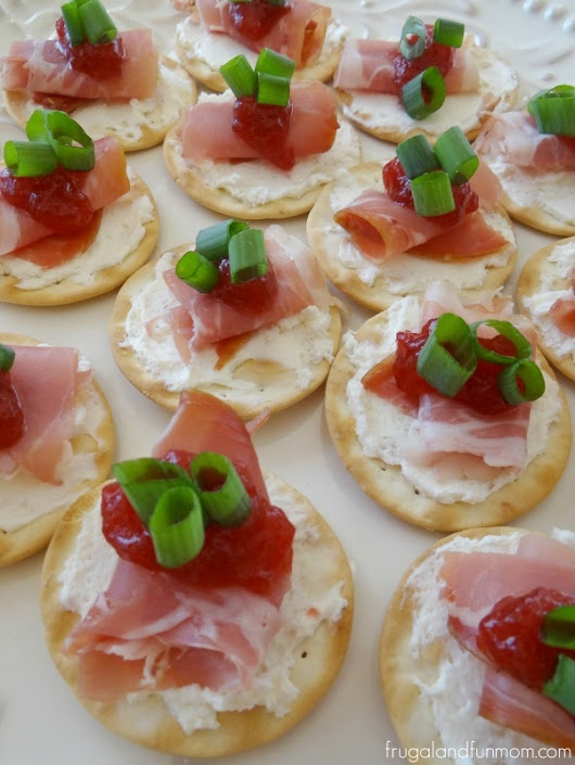 Prosciutto and Cranberry Crackers, An Appetizer Made For Holiday Entertaining! #HolidayWithGlade - Frugal and Fun Mom/ Florida Mom Blog, Recipes, Crafts, Family Fun