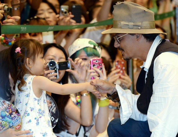 Johnny Depp (Foto: Agência/ AFP)