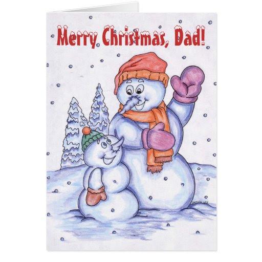 Merry Christmas, Dad Card | Zazzle