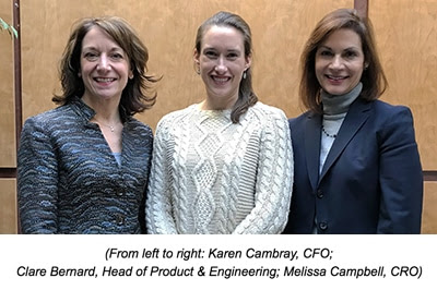Tamr hires Karen Cambray as CFO and Melissa Campbell as CRO; Clare Bernard promoted to Head of Product & Engineering - Tamr Inc.