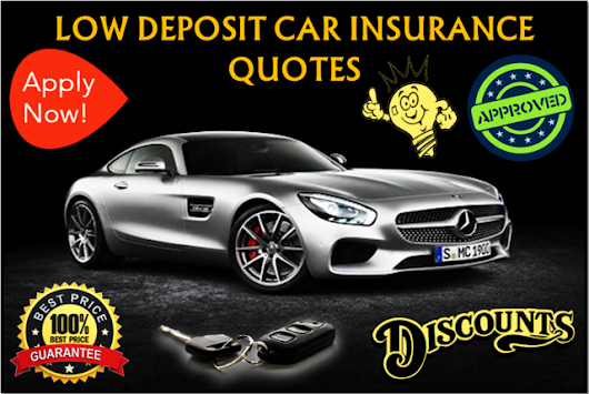 Cheap Car Insurance with Low Deposit for Young Drivers Online