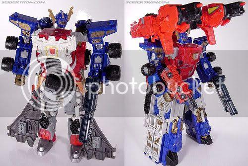 Armada Optimus Prime / Jetfire