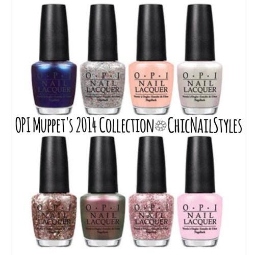 OPI Muppets Most Wanted 2014 Collection
