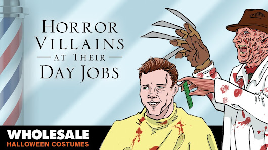 Horror Villains at their Day Jobs | Wholesale Halloween Costumes Blog