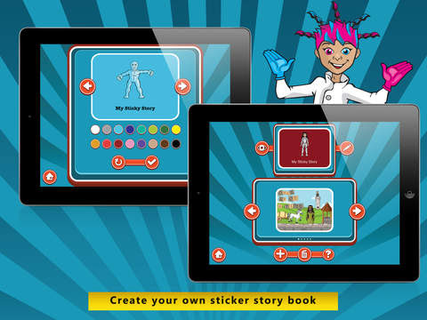 Sticker Story app review: give kids the ability to be creative