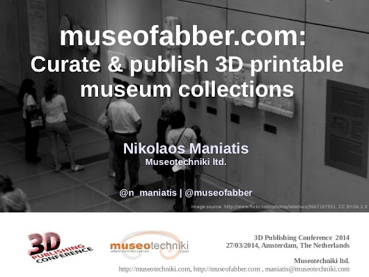 museofabber.com: Curate & publish 3d printable museum collections