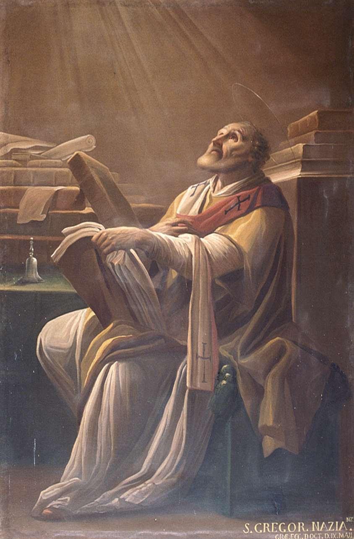 Resultado de imagen de san gregorio nacianceno