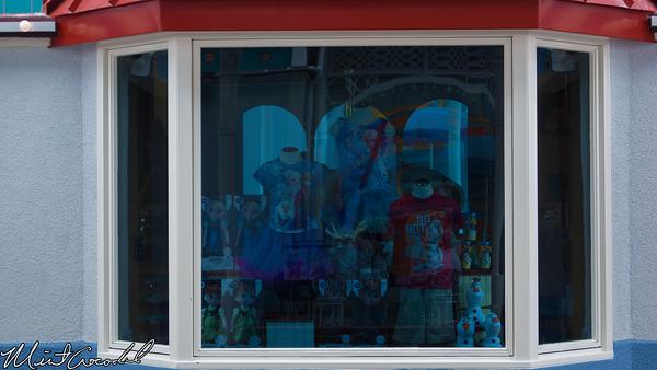 Disneyland Resort, Disney California Adventure, Paradise Pier, Treasures in Paradise, Frozen, Merchandise, Window